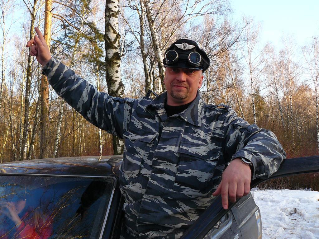 Финские подводники в лесах Подмосковья