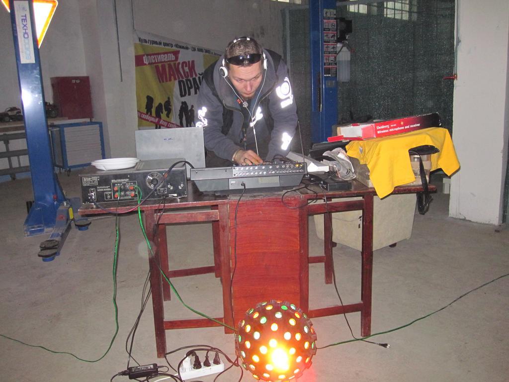 DJ Aster создает музыкальное настроение