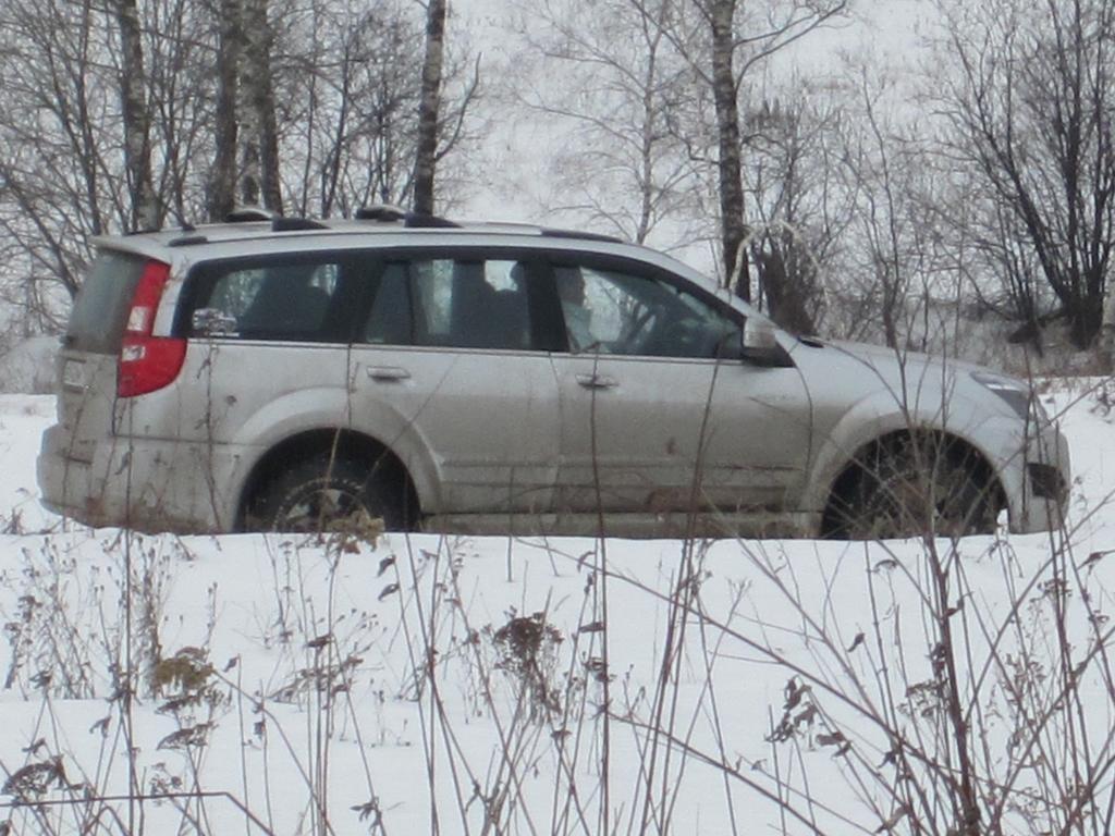 Ховер покоряет снежные леса