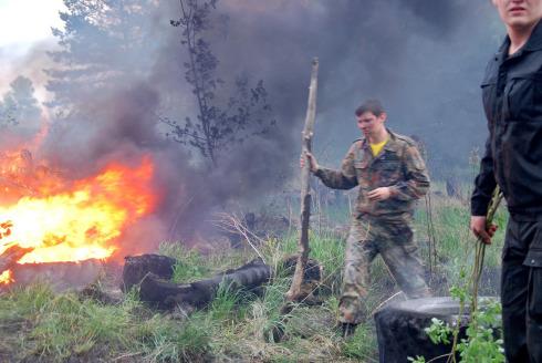 Борьба с пожарищем
