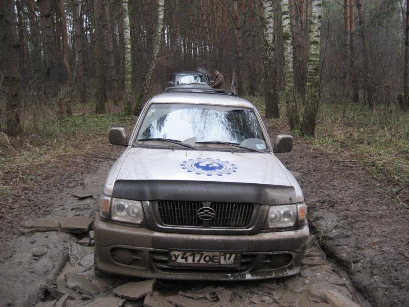 Great Wall SAFE во льдах Юсупово