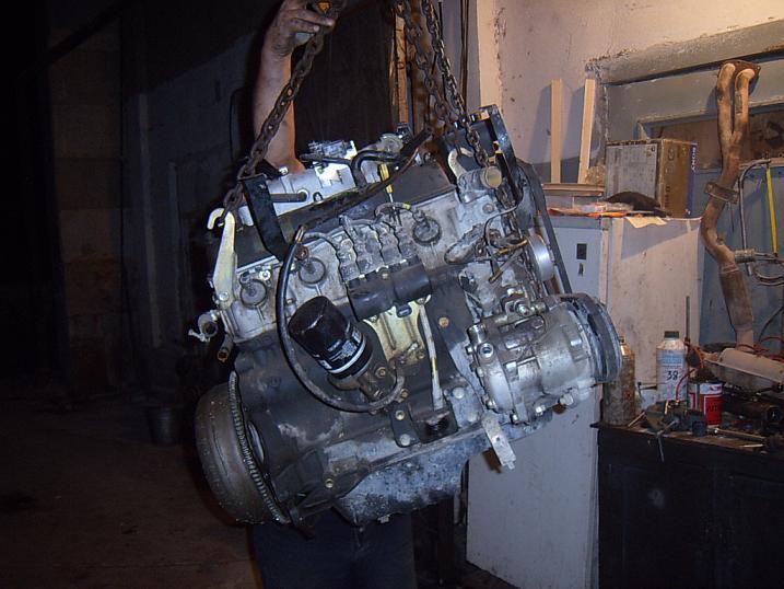 Мотор. Внешний вид