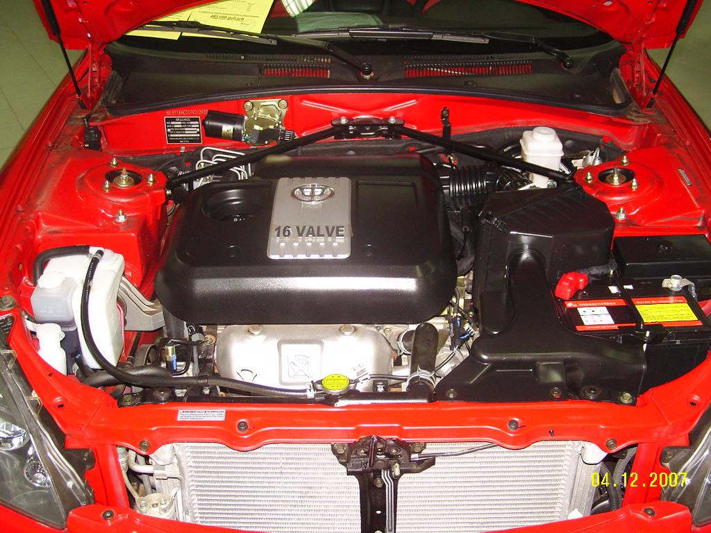 Brilliance M2 моторный отсек