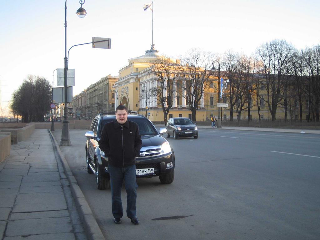 Поездка Москва-Питер-Новгород-Москва