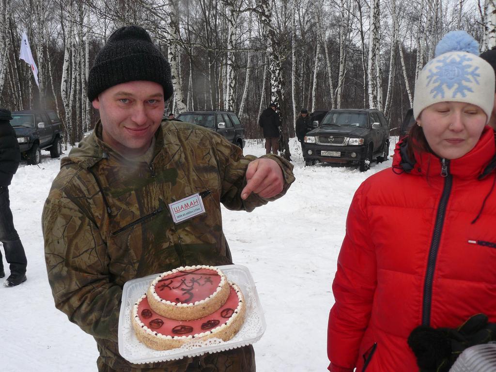 Торт от Шамана