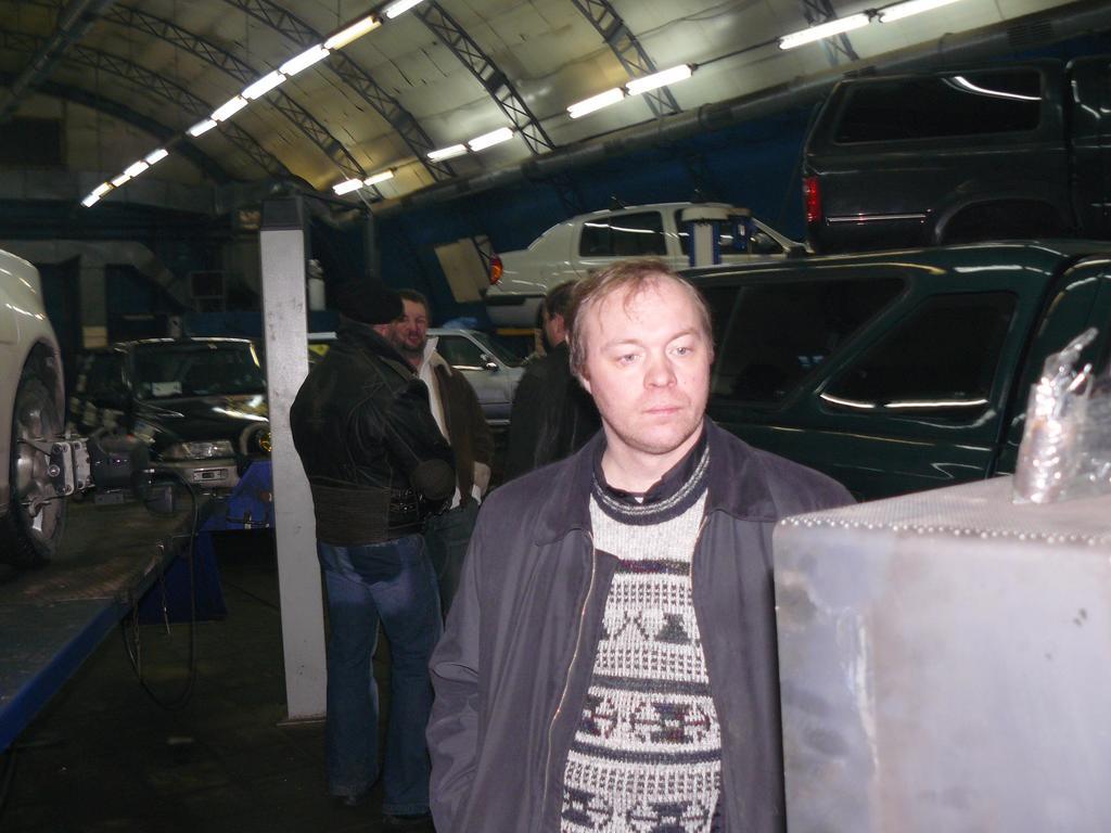 Субботник на СТО-5