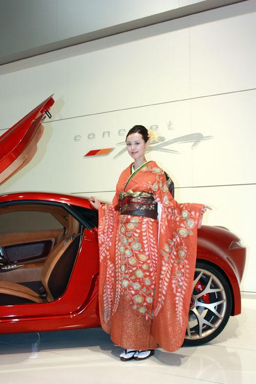 Японский автомобиль+Гейша
